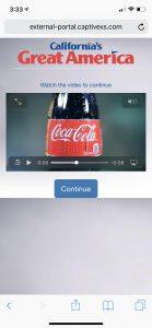 CaptiveXS Captive Portal Post-login Video Ad Insertion